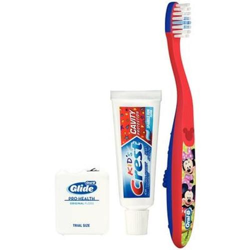 P&G Oral-B Manual Toothbrush Bundles Kid's 2-4 Solution, 72 bundles/cs
