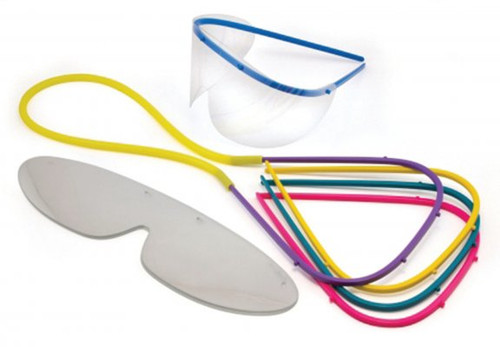 Googles Full Face Shield Replacement 50Pk