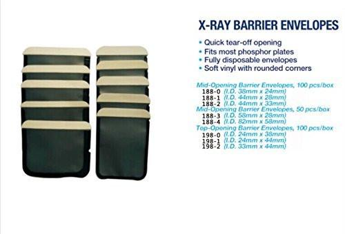 Barrier Envelopes Size 2 (For Phosphor Plate  (Bx/  100)