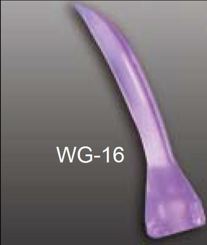Accuwedges Plastic Wedges  Pkg/100 16mm Purple