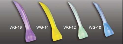Accuwedges Plastic Wedges  Pkg/100 Asstd 4 Sizes