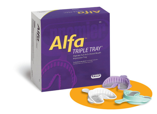 Premier Alfa Triple Tray Assorted 24/Pk