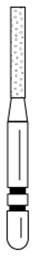 Shortcut Diamond FG 5/Pk 515.7Cs Cylinder (Flat-End)
