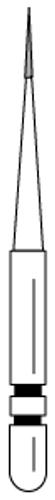 Two-Striper Diamond FG 201.3F Short Shankinterproximal 5/Pkg