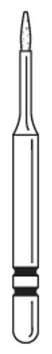 Two-Striper Diamond FG 5/Pk Mp89M Microprep