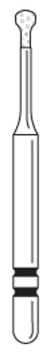 Two-Striper Diamond FG 5/Pk Mp53Am Microprep