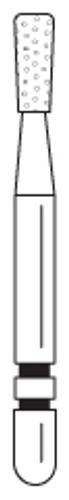 Two-Striper Diamond FG 5/Pk 317.4C Flat End Inverted Cone
