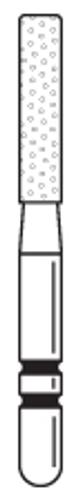Two-Striper Diamond FG 5/Pk 516.7C Cylinder Flat End