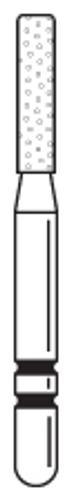 Two-Striper Diamond FG 5/Pk Kr 521.6F Cylinder Round