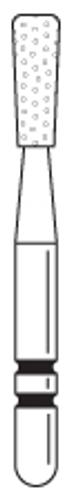 Two-Striper Diamond FG 5/Pk 318.5C Flat End Inverted Cone