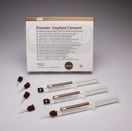 Premier Implant Cement (New) 3Pk