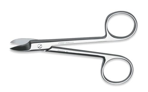 "Scissors Crown & Collar Curved 4"""