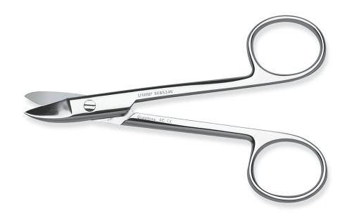 "Scissors Crown & Collar Curved 5"""