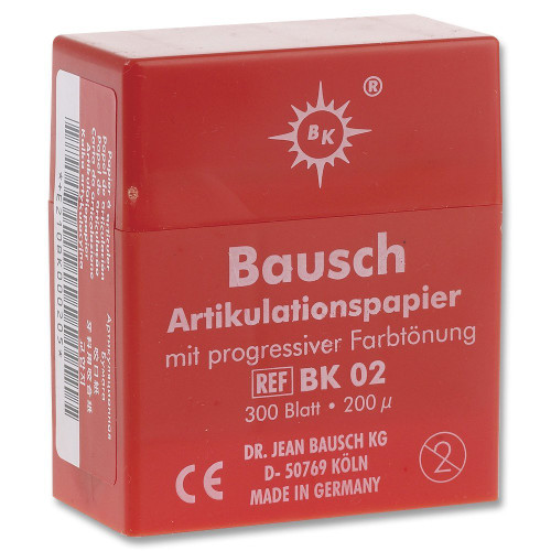Bausch Articulating Paper No-Smudge Plastic Dispenser - Red