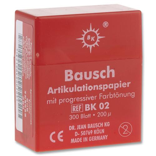 Bausch Articulating Paper No-Smudge Plastic Dispenser - Red