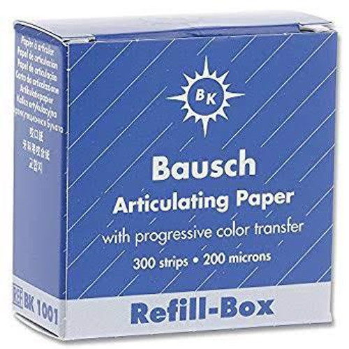 Bausch Articulating Paper No-Smudge Booklets - Blue