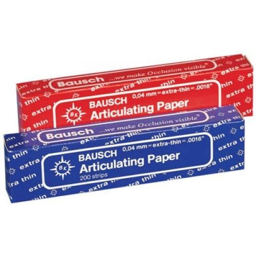 Bausch Articulating Paper Extra Thin - Blue