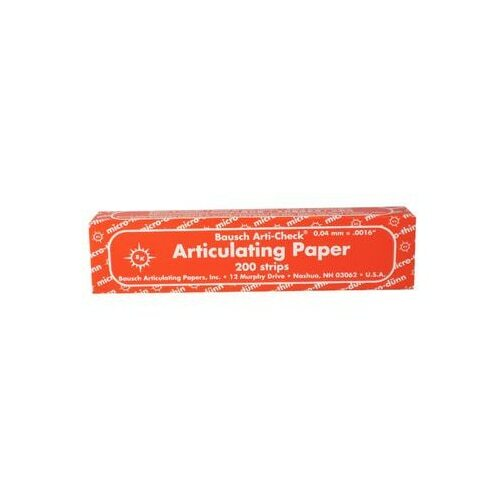 Bausch Articulating Paper Extra Thin - Red