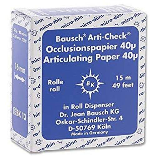 Articulating Paper - Roll 16mm X 15M - Blue