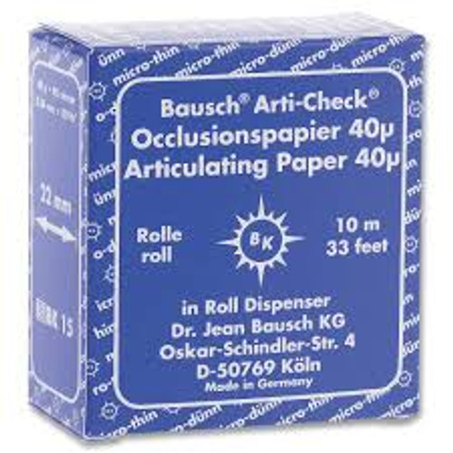 Articulating Paper - Roll 22mm X 10M - Blue