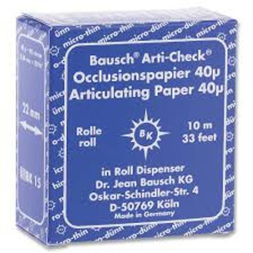 Articulating Paper - Roll 22mm X 10M - Blue