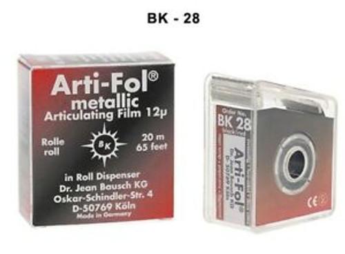 Bausch Arti-Fol II - 22mm X 20M - Black/Black