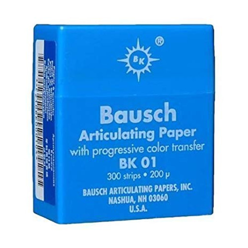 Bausch Articulating Paper Thin - Dispenser Box - Blue