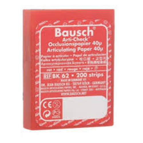 Bausch Articulating Paper Thin - Dispenser Box - Red