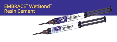Embrace Wetbond Resin Cement - Low Viscosity Automix Syringe