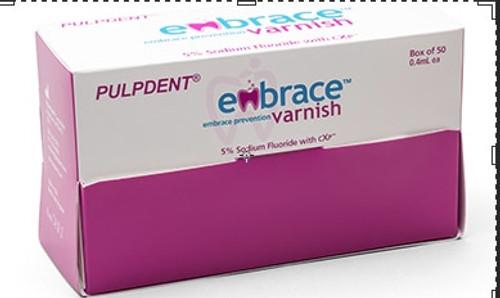 Embrace Varnish Unit Dose With Brush 200 X .04 mL