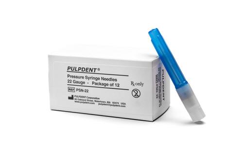 Tempcanal - Needles 25 Ga Pressure Syringe Bx12