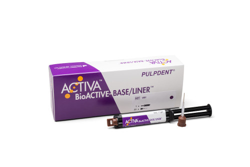 Pulpdent ActIva Bioactive Base/Liner Single Pk 5mL/7mL W/Tip
