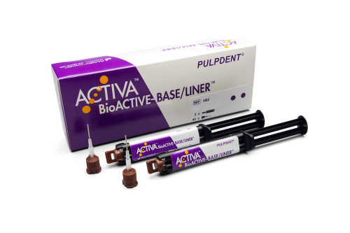 Pulpdent ActIva Bioactive Base/Liner Value Pk 2X 5mL/7mL