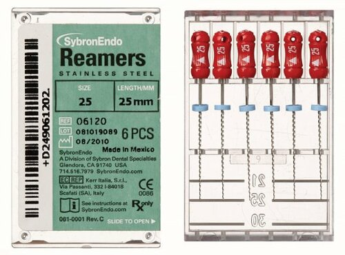 Kerr  Reamer 25mm 15 Pkg/6