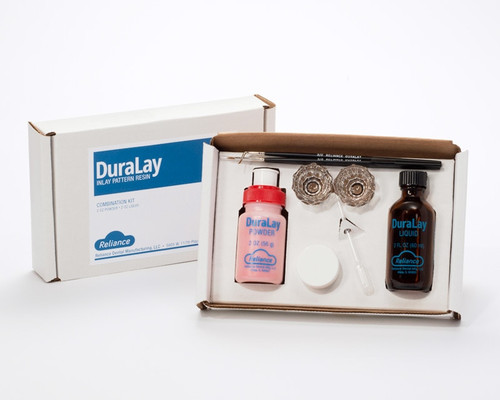 Duralay Inlay Pattern Resin- Combination Kit - Blue
