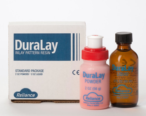 Duralay Inlay Pattern Resin- Standard Pkg P&L - Red