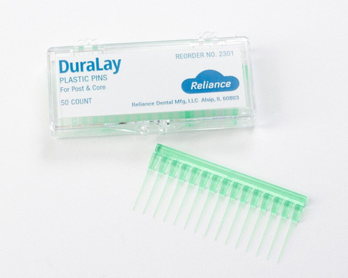 Reliance Duralay Plastic Pins 50/Pk