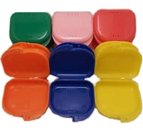 AllSmiles Retainer Box Assorted Colors 12/Pkg
