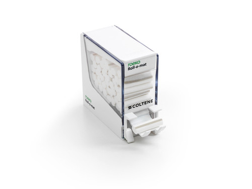 Roeko Dental Roll Dispensers Roll-O-Mat (Plastic-White)