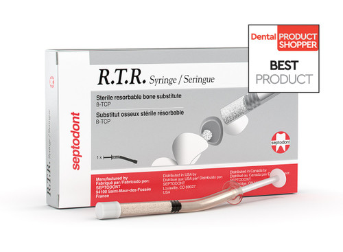 Septodont (R.T.R) Resorbable Tissue Replacement Syringe