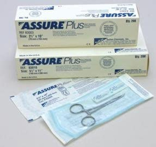 Assure Plus Pouches 3.5 X 10 (90mm X 255mm) Box Of 200