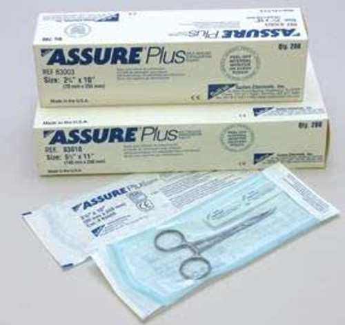 Assure Plus Pouches 5.5 X 13 (140mm X 330mm) Box Of 200