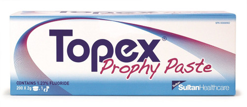 Topex Prophy Paste Chocolate Coarse Cups - Box Of 200