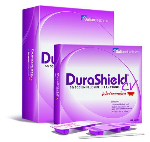 Durashield Cv 5% Sodium Fluoride Varnish 50/Box Watermelon