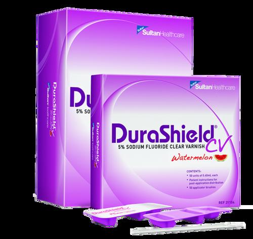 Durashield Cv 5% Sodium Fluoride Varnish 50/Box Strawberry
