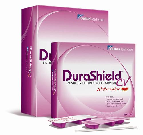 Durashield Cv 5% Sodium Fluoride Varnish 200/Box Watermelon