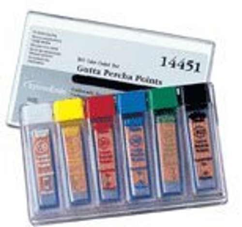 Gutta Percha Std- Asst #15-40 6 Vials Of 20
