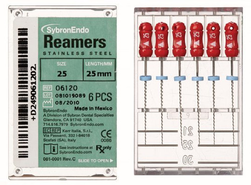 Reamers 21mm  Sz 25 Red    Pk6