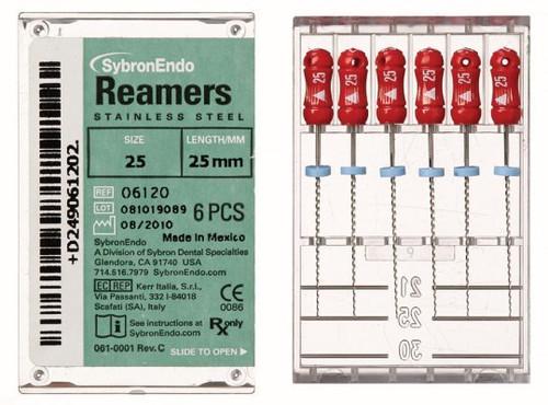 Reamers 25mm  Sz 20 Yellow Pk6
