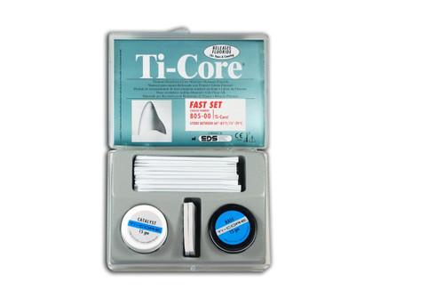 Ti-Core Build-Up Material W/ Fluoride Gray Fast Set